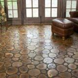 Medinės grindys iš ripkų