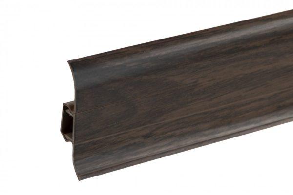 Plastikinė grindjuostė Premium Kongo ąžuolas